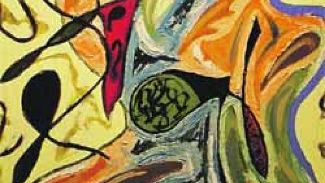 Verónica Domingo protagoniza una muestra que se caracteriza por el color y los trazos fuertes.