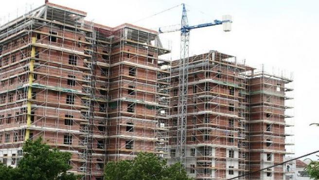 Pisos en construcción (ARCHIVO)