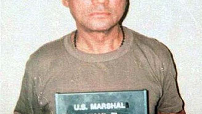 Manuel Antonio Noriega, antes de ingresar en la cárcel de Miami.