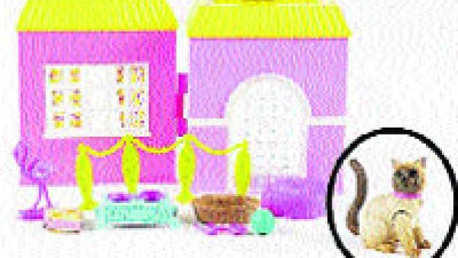 Varios de los productos afectados que deben ser devueltos; algunas mascotas de la Barbie y el camión con remolque de Geotrax. (Mattel)