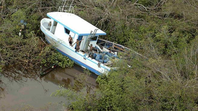 'Félix ' tras su paso por Nicaragua. (REUTERS).