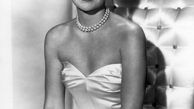 La actriz Jane Wyman a mediados del siglo pasado.