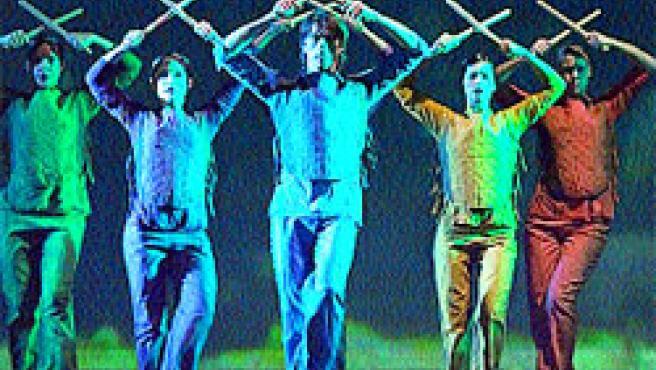 Los bailarines de Amantes.
