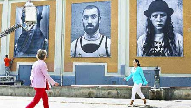 Ricky Dávila protagoniza una de las exposiciones del festiva.(Alfredo Aldai/Efe)