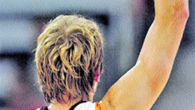 El alemán Nowitzki.(Reuters).