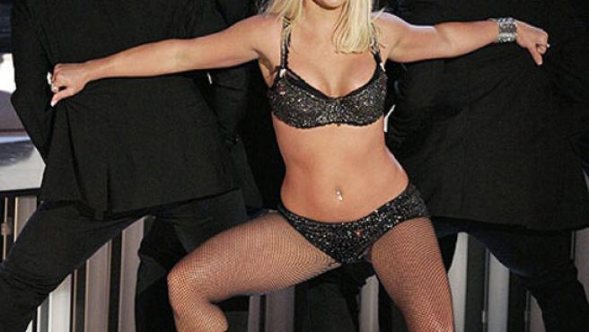 Britney Spears durante su actuación en los MTV Awards 2007. (Mark J. Terrill / AP).