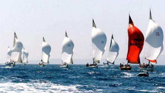 Imagen de archivo del XXXI Trofeo de Vela Princesa Sofía en la Bahía de Palma.