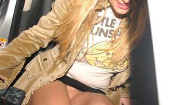 Britney sin ropa interior