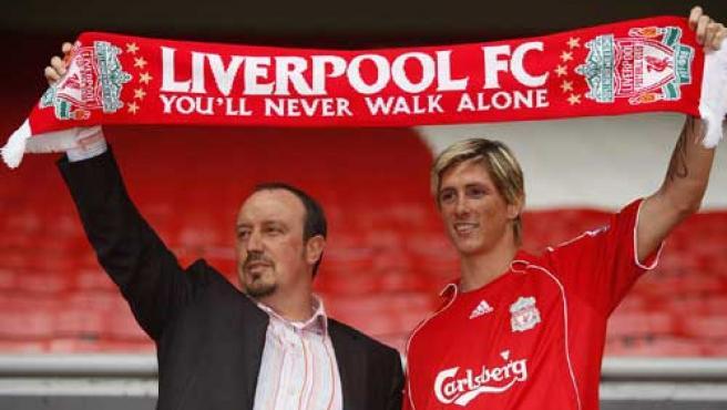 Torres, con el Liverpool