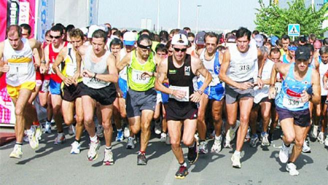 El espíritu deportivo se nutre también de la participación de aficionados de toda condición física (Rafa Molina).