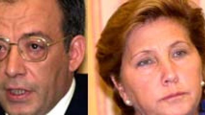 Antonio Camacho Friaza, José María Ruiz de la Serna, Pilar García Reyna y Anibal Sardón. (EFE).