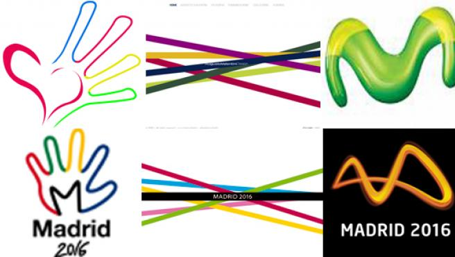 ¿A qué le recuerdan estos logos?