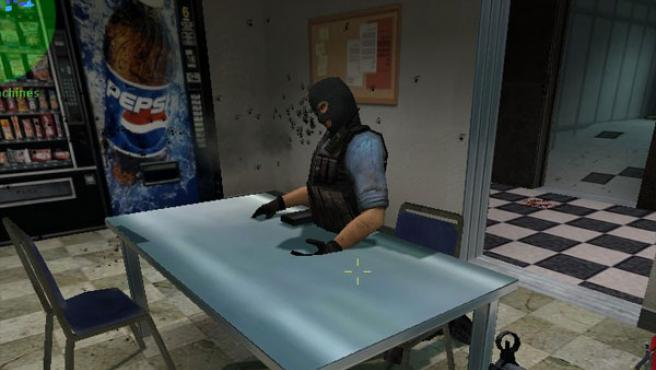 Los agentes reproducen en el juego escenarios de la lucha antiterrorista.