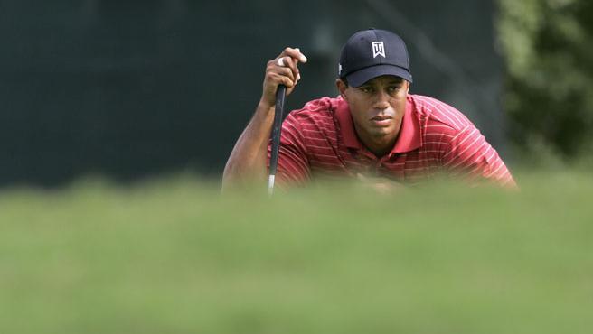 El golfista, en un momento del torneo (Agencias).