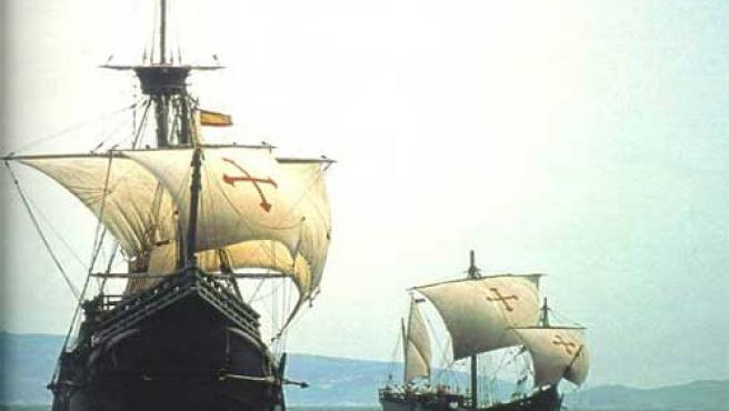 Las carabelas son el símbolo del descubrimiento de América.
