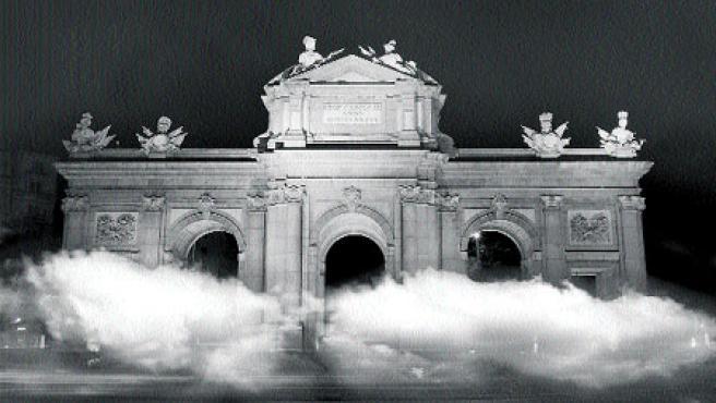 La puerta de Alcalá se ambientará con la 'Atmósfera' de Darya von Berner.