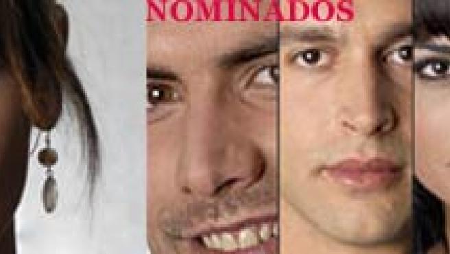 Amor y los nominados: David, Rodrigo, Paula, Melania y Karen. (T5).