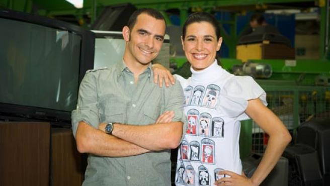 Raquel Sánchez Silva y Diego Chueca conducirán el programa. (R. Garver).