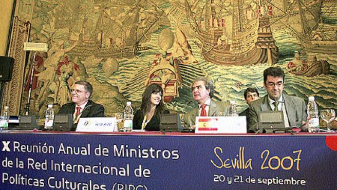 X Reunión Ministerial Anual de la Red Internacional de Políticas Culturales. (J.M / EFE)