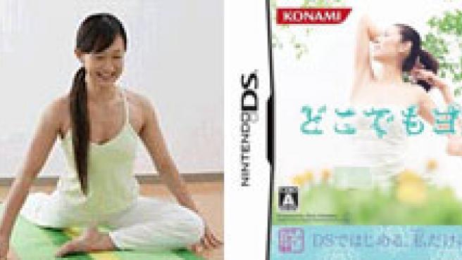 Videojuego de yoga presentado por Konami. (KONAMI).