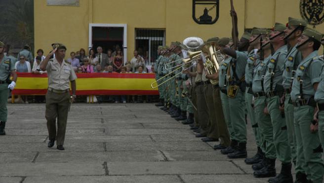 Los actos tuvieron lugar en el acuartelamiento de García Aldave