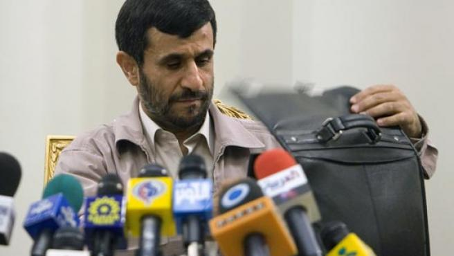 El presidente iraní, Mahmud Ahmadineyad. (REUTERS).