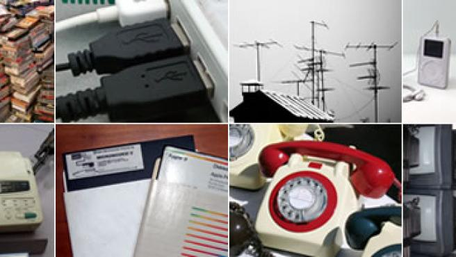 Teléfonos fijos, televisión analógica y monitores de tubo, el fax o cámaras basadas en el tradicional negativo, candidatas a desaparecer próximamente.