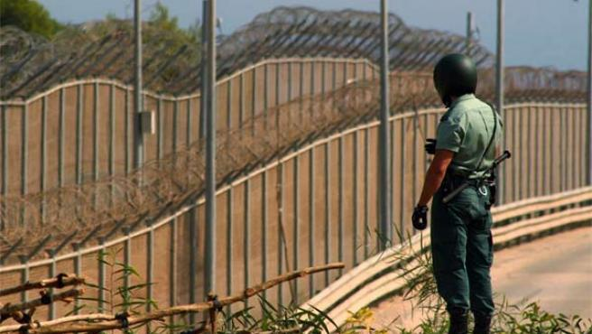 La valla de Melilla. Rafael Marchante / Reuters