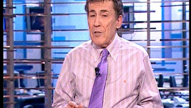 Sánchez Dragó, anoche en Telemadrid.