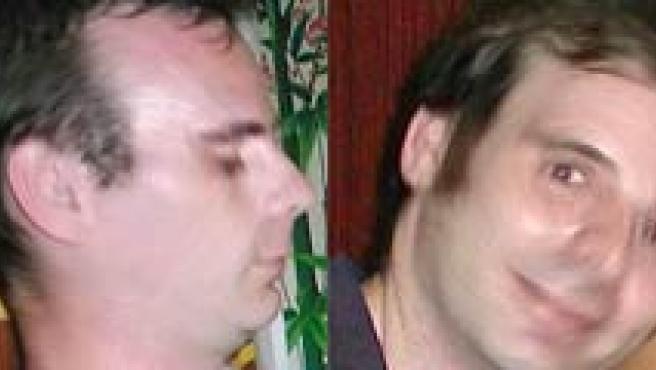 Imágenes difundidas por Interpol del presunto pederasta.