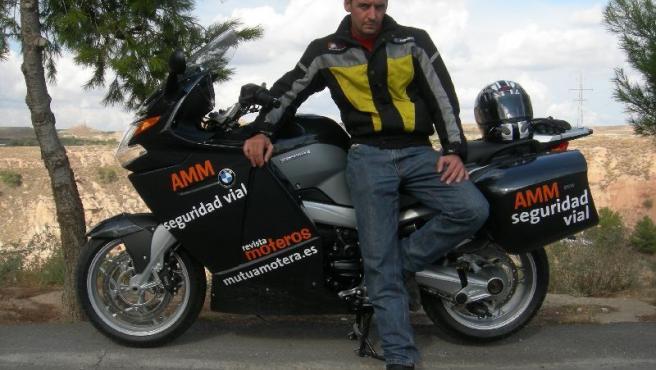 Juan Carlos Toribio, director de seguridad vial de la Asociación Mutua Motera.