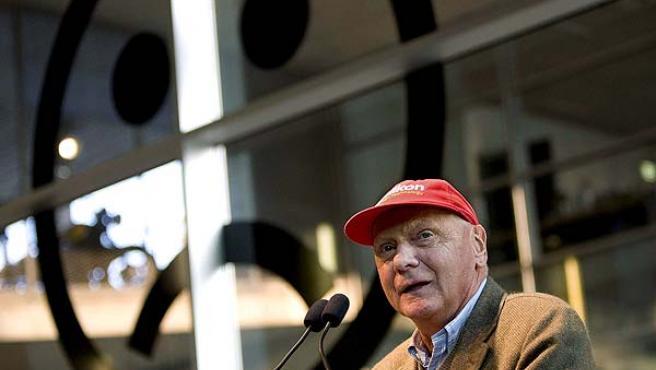 Niki Lauda, en una imagen de archivo.