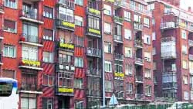 El 87% de las casas de la zona se construyeron antes que la autovía.(Erlantz Bilbao)