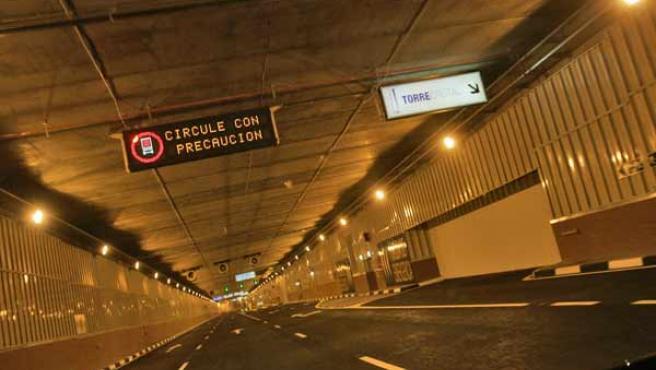 Uno de los túneles. JORGE PARÍS / 20MINUTOS.ES