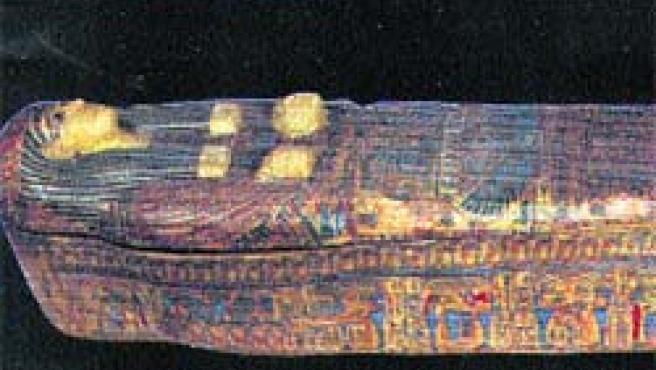 Sarcófago anónimo hallado en Deir el Bahari.