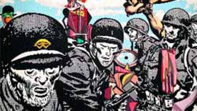 Los soldados de Bretón, de Equipo Crónica es una de las piezas de la muestra.(E. Margareto/Ical)