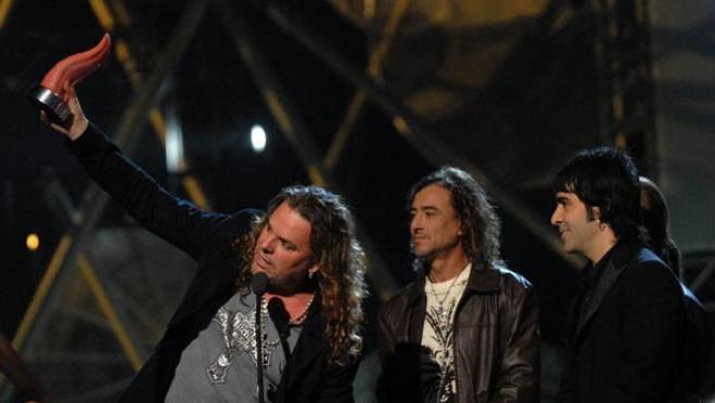 Los integrantes del grupo mexicano Maná, en una foto de archivo.