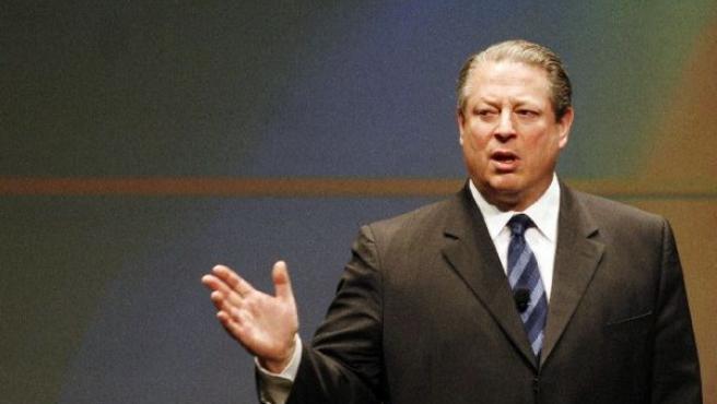 El ex vicepresidente de Estados Unidos, Al Gore, dará una conferencia sobre el cambio climático, imagen de archivo.