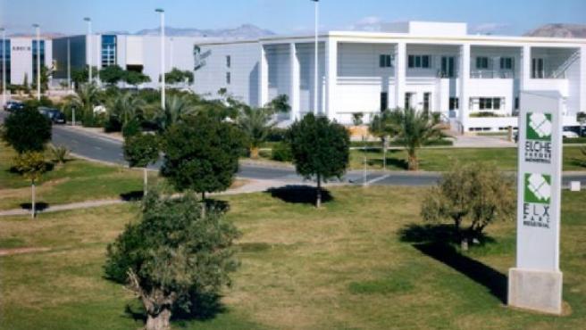Una de las zonas del Parque Industrial de Elche. Foto: elcheparqueindustrial.com