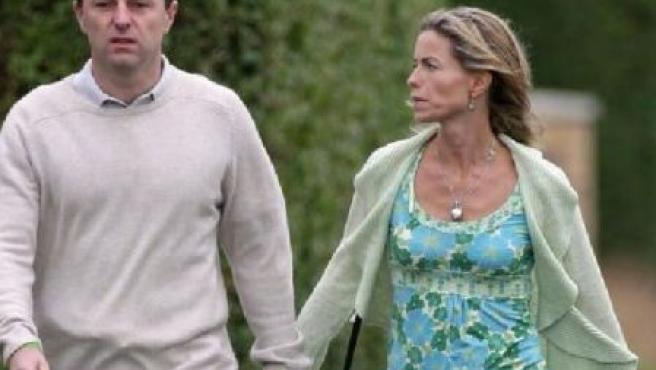 Kate y Gerry McCann, en una imagen de archivo.