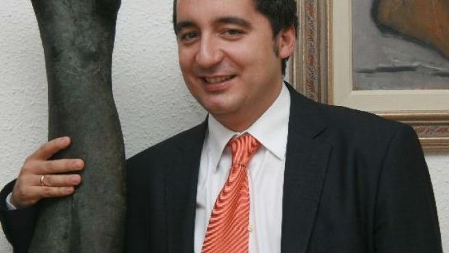 Pedro Alberto Cruz, en el Palacio de los Pachecho, sede de la Consejería de Cultura, Juventud y Deportes.