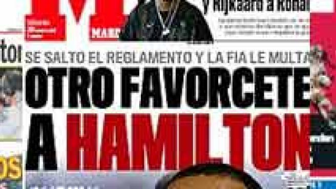 Portadas de As, MARCA y Mundo Deportivo.