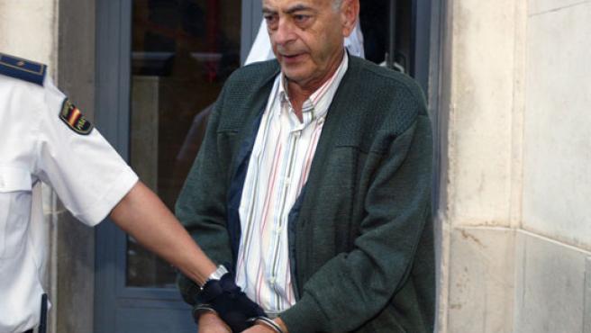 El alcalde de Ojós, tenenido el pasado jueves por un caso de corrupción infantil.