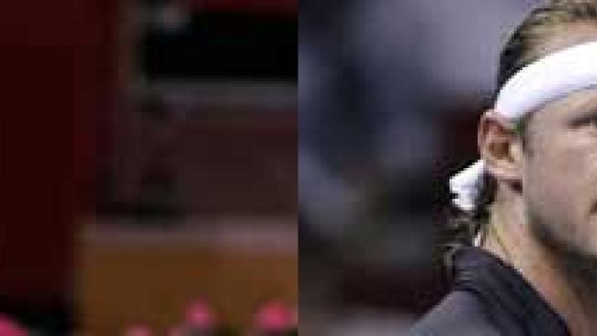 Federer y Nalbandián, finalistas del Masters Series de Madrid. (EFE)