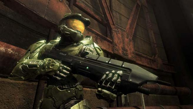 El Jefe Maestro, protagonista de Halo 3.