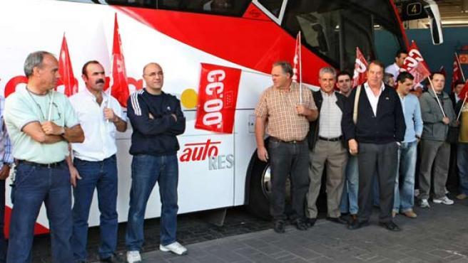 Los trabajadores denuncian que la empresa no cumple los acuerdos firmados.