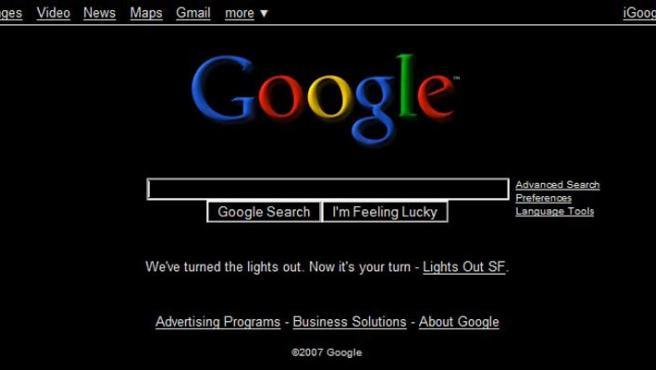 Página de Google creada para un encuentro tecnológico.
