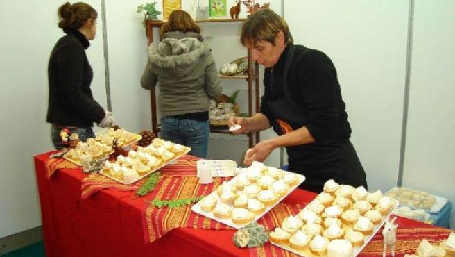 Los visitantes han tenido la posibilidad de probar las más de 100 variedades de queso que se producen en el territorio.