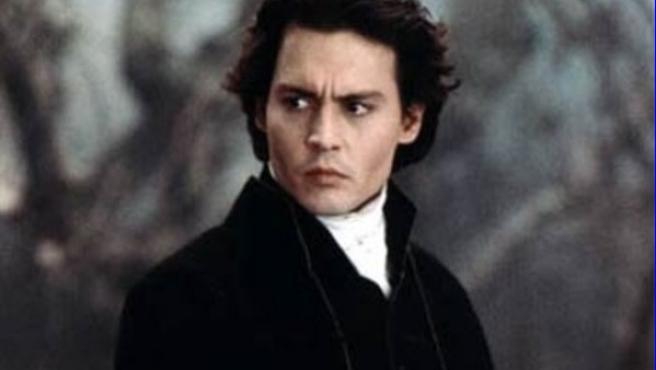 Johnny Depp, en el cuento gótico 'Sleepy Hollow', de Tim Burton.