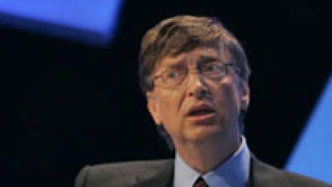 Bill Gates, presidente de la compañía informática